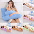 U Shape Oversized Comfort Full Body Support Pillow For Pregnancy Maternity Women image