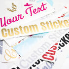 2pcs Personalised Custom Vinyl Sticker Text Name Lettering 39 Gloss Colors