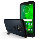 Motorola Moto G6 | Spigen® [Tough Armor] Metal Slate Heavy Duty Case Cover