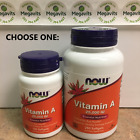 CHOOSE ONE: NOW Vitamin A 25,000 IU 100 OR 250 Softgels on eBay