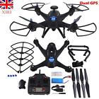 RC Drone Quadcopter Dual GPS Wifi FPV X183 2.4GHz Remote Control 1080P Camera UK