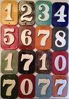 Address tiles -house number- weatherproof mailbox, wall. Applewood Pottery