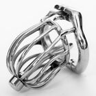 New High quality Male Chastity Device Bird Lock Stainless Steel Cage S095