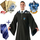 Harry Potter Hogwarts Adult Child Robe Cloak Scarf Tie Set School COS Costumes