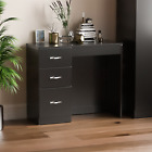 Hulio Riano Chest of Drawers Dressing Table Wardrobe Bedroom Furniture Black