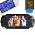 Portable 4.3'' PSP9 Handheld Game Console Built-In 100 Games 8GB TF Card Cam
