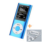 "NEW 4TH 1.8""LCD MP3 Media MP4 Player Music Video FM Player 32GB TF Card lot rs"