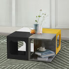 High Gloss Coffee Table Storage End Side Table Tv Stand Bedside Table Changeable