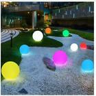 16 Changeable Color Ball Garden Landscape Lawn Pathway Deck Light Remote Control