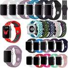 Replacement Silicone Sport Band Strap For Apple Watch 42mm 38mm Series 2 1