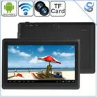 """Tablet Phone 512MB+8GB 7"""" Display Android 4.4 Quad Core 1.2GHz WiFi"""