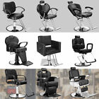 Hydraulic Deluxe Recline Barber Chair Salon Spa Beauty Shampoo Hair Equipment