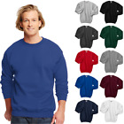 Hanes Sweatshirt Ultimate Cotton Crewneck Mens Comfort Unisex Pullover F260