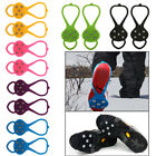 Mountaineer Hiking Crampons Outdoor Antislip Ice Snow Shoe Spikes shoe covers