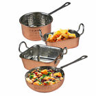 Copper Pans Mini Serving Dishes Stainless Steel Roasting Dish Oven Food Party