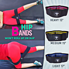 LT Fit Legs Hip Training Cloth Fabric Booty Bands Set Resistance Loop Fitness  image