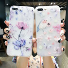 Cute Cartoon Flower Bird Phone Case TPU Silicone Cover For iPhone X 8 7 6S Plus