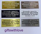 Aluminium Engraving plate plaque free engraving 60mm x (your choice height)