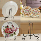 7 Sizes Iron Display Stand Art Plate Easel Holder Plaques Storage Home Decor Hot