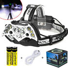 200000LM Garberiel 11x T6 LED Headlamp USB Rechargeable 18650 Headlight Torch US <br/> Free Tax !!! Buy 1, get 1 at 10% off(Add 2 to Card)