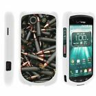 For Kyocera Brigadier E6782 Hard Fitted 2 Piece Snap On Case White