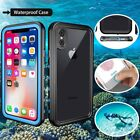 Full Waterproof TPU Rubber Armor Protective Case Cover For Apple iPhones 8 Plus