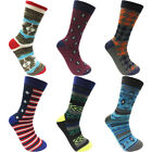 Lot of 6&amp;12 Pairs New Cotton Men Dress Crew Socks Casual Size 10-13 Multi Colors <br/> FAST &amp; SECURE SHIPPING!! BUY 1, GET 1 AT 20% OFF