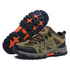 Mens Safety Shoes Fashion Steel Toe Sole Breathable Work Boots Hiking US 1