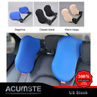 Auto Car Nylon Seat Headrest Pad Neck Rest Support Cushion Rotated Memory Pillow