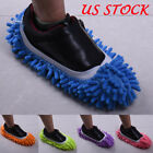 House Floor Foot Sock Shoe Mop Slipper Lazy Quick Polishing Cleaning Dusting
