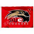 NCAA S Large Logo Flag 3X2FT 5X3FT 6x4FT 100D Polyester