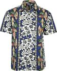 Relco Mens Hawaiian Short Sleeved Shirt 50's Aloha Retro Indie Surf Palm Beach