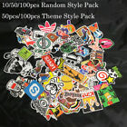 100pcs Random Skateboard Vinyl Sticker Graffiti Phone Luggage Car Bomb Decal Lot