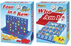 FOUR IN A ROW  WHO AM I 385 146 RETRO CLASSIC BOARD GAMES FAMILY KIDS FUN 4