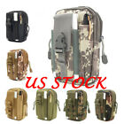 Mens Outdoor Tactical Molle Fanny Phone Pouch Belt Waist Pack Bag Pocket US