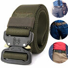 Handsome Men Cobra Deduction Sport Belt Outside Nylon OutdoorTraining Belt 130CM