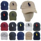 Polo Cap With Fine Embroideried Big Pony 3 Baseball Golf Tennis Hat Unisex Men