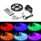 1m-10m LED RGB 5050 30 LEDs/m Strip Streifen Band Lichterkette Controller Trafo