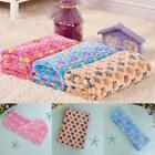 1 PC Warm Pet Mat Stars Print Cat Dog Puppy Fleece Soft Blanket Bed Cushion UK