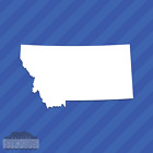 Montana MT State Outline Vinyl Decal Sticker