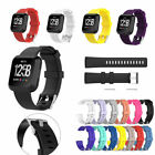 US For Fitbit Versa Watch Band Replacement Classic Soft Wrist Strap Watchband di
