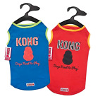 Shirt Dog Tank Pet Clothes Apparel Vest Size XS S Sports Red Blue Kong SPF40 New