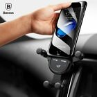 Baseus Gravity Car Holder For iPhone Samsung Huawei Mobile Phone Holder Stand