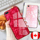 For Iphone 7 8 Plus X Xs Phone Case Marble Luxury Back Glass Stylish Cover