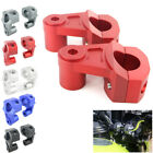 """1 1/8"""" Handle Fat Bar Mount Clamp Risers For Triumph Tiger 800 Street/Roadie $29.96 USD on eBay"""