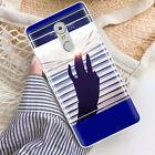 Soft TPU Silicone Case For Lenovo K6 Note Protective Back Covers Skins Words