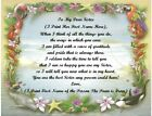 Personalized Poem Gift for that Special Sister (See all 20+ styles available)