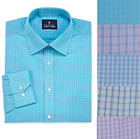 NEW Stafford Mens Travel Broadcloth Dress Shirt size 15 15.5 16 16.5 17 18