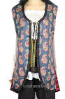 Deluxe Angelica VEST Costume Pirates Of The Caribbean 4