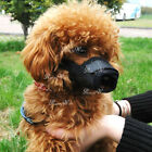 Dog Pet Adjustable Mask Bark Bite Mesh Mouth Muzzle Grooming Anti Stop Chewing.